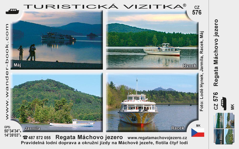 Regata Máchovo jezero