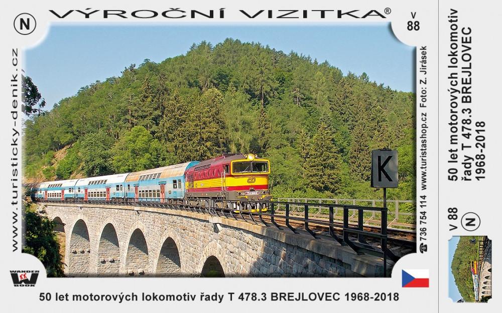 Lokomotivy Brejlovec 50 let