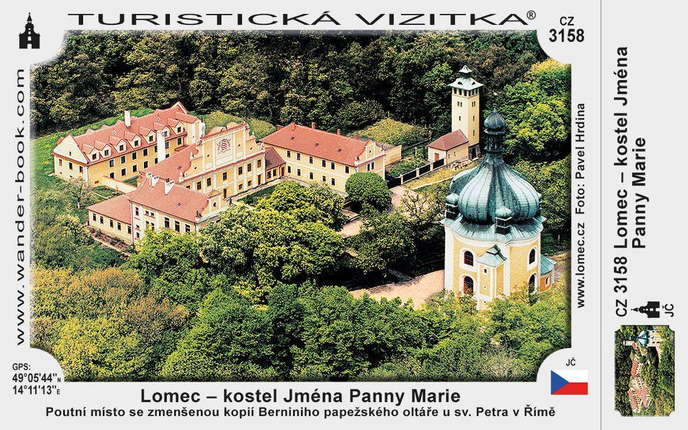 Lomec - kostel Jména Panny Marie