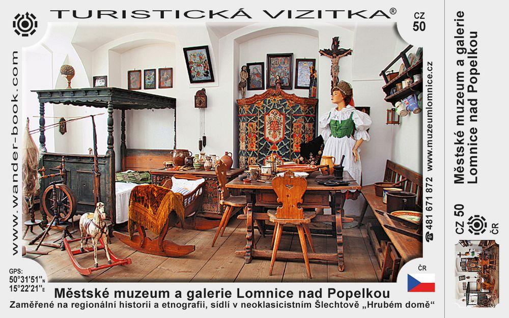 Lomnice n P muzeum
