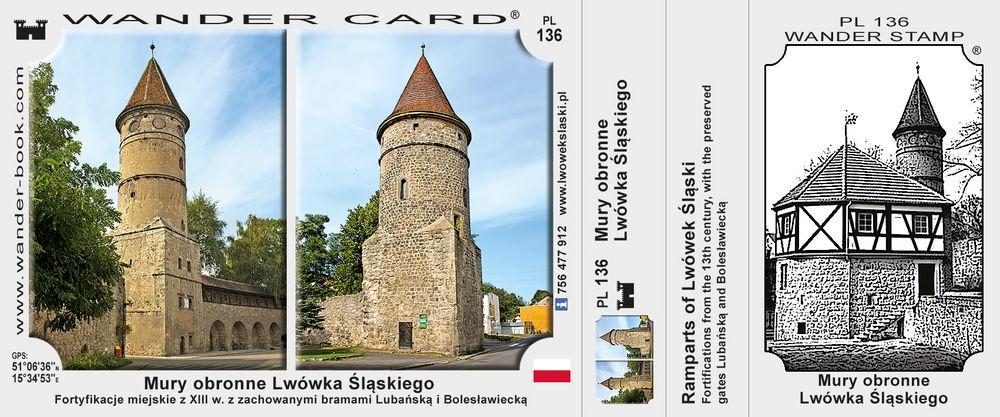 Lwówek Śląski mury obronne