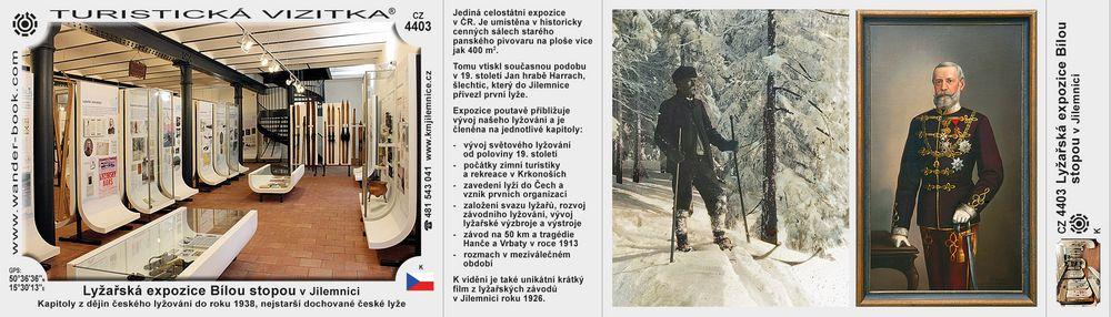 Lyžařská expozice Bílou stopou v Jilemnici