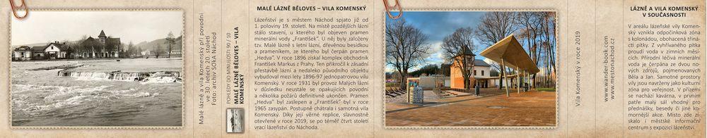 Malé lázně Běloves – Vila Komenský