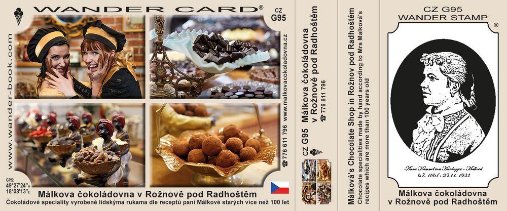 Málkova čokoládovna v Rožnově pod Radhoštěm