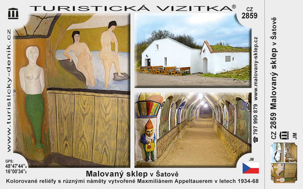 Malovaný sklep v Šatově