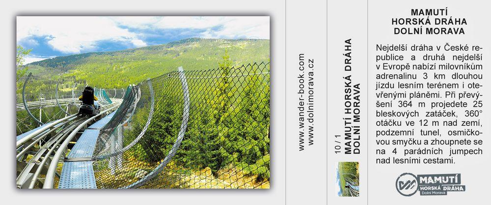 Mamutí horská dráha Dolní Morava