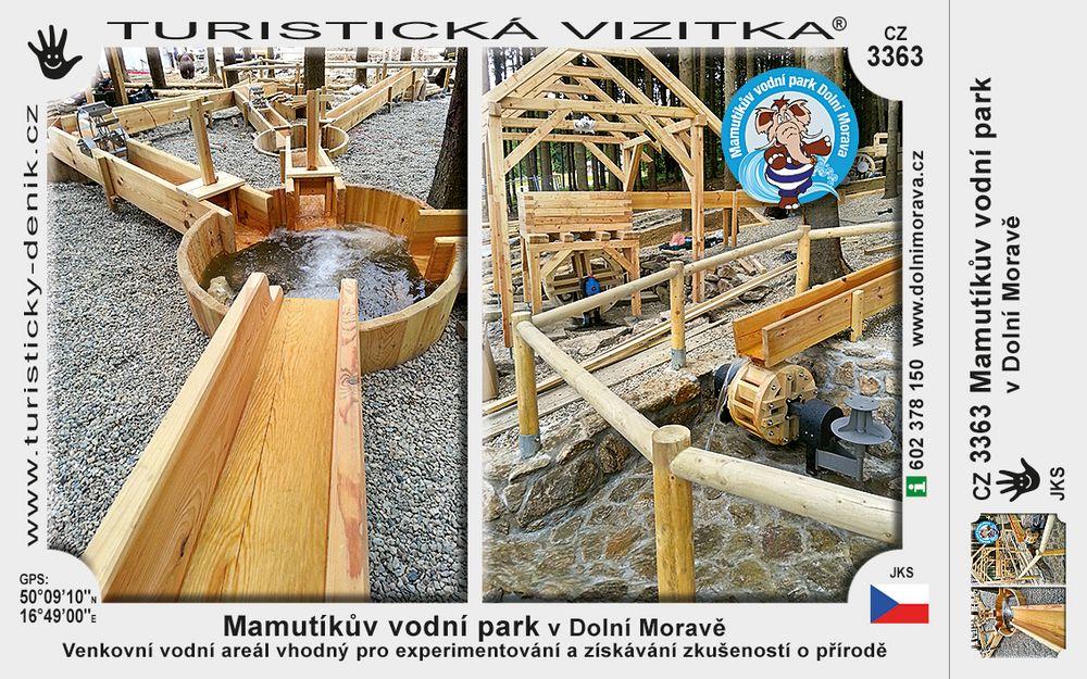 Mamutíkův vodní park v Dolní Moravě