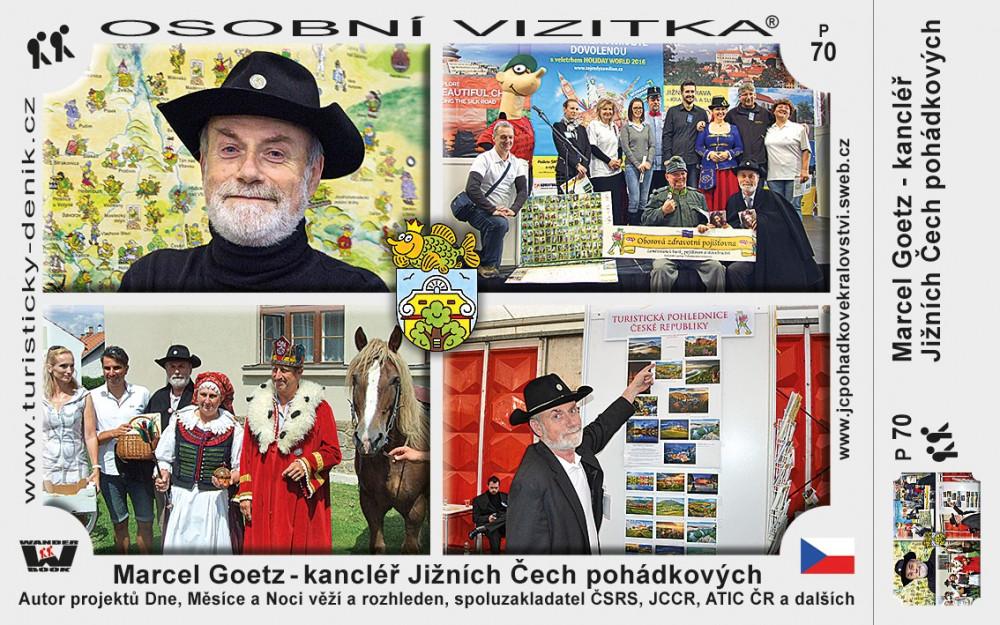 Marcel Goetz – kancléř Jižních Čech pohádkových