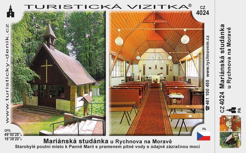 Mariánská studánka u Rychnova na Moravě