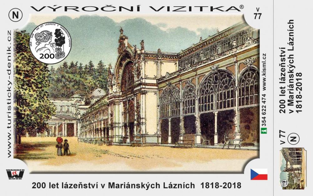 Mariánské Lázně 200 let