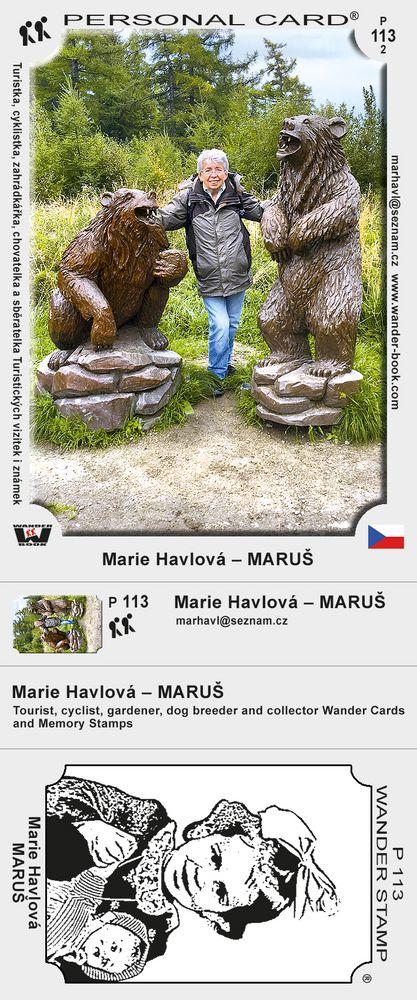 Marie Havlová – MARUŠ