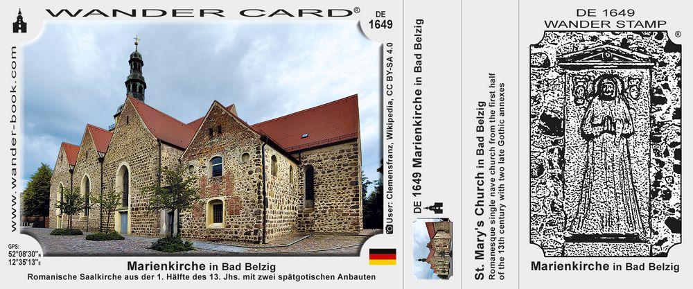 Marienkirche in Bad Belzig