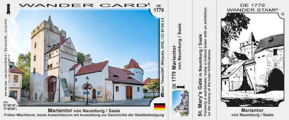 Marientor von Naumburg / Saale