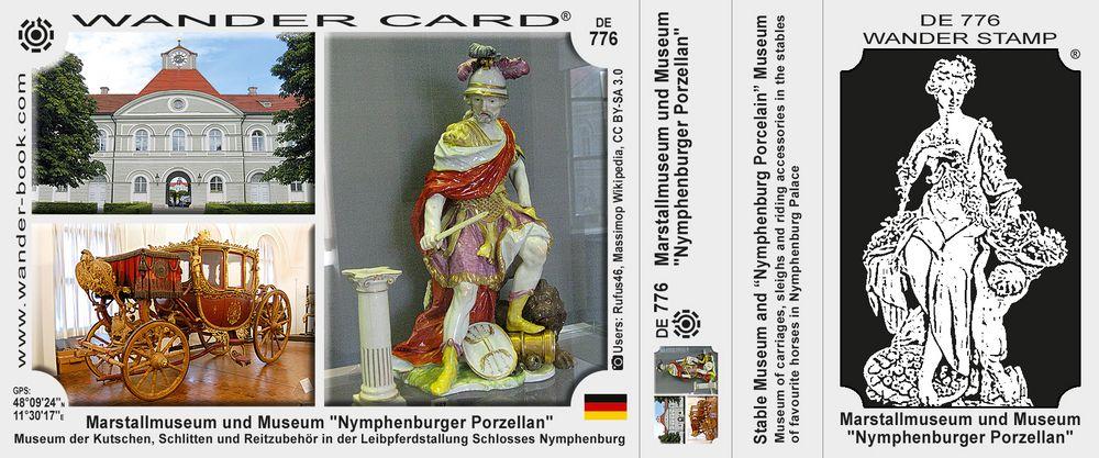 """Marstallmuseum und Museum """"Nymphenburger Porzellan"""""""