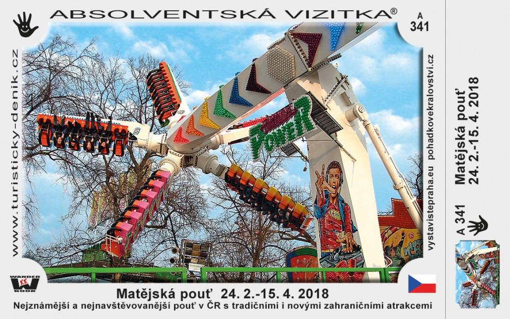 Matějská pouť 2018