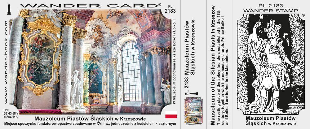 Mauzoleum Piastów Śląskich w Krzeszowie