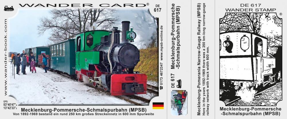 Mecklenburg-Pommersche-Schmalspurbahn (MPSB)