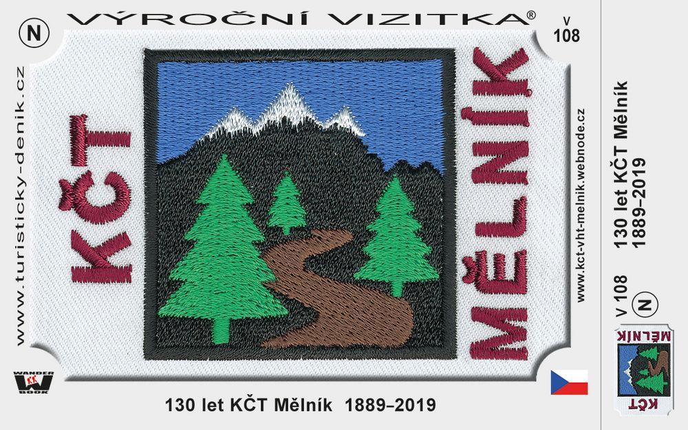 130 let KČT Mělník  1889–2019