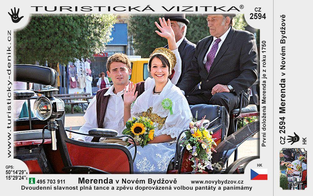 Merenda v Novém Bydžově