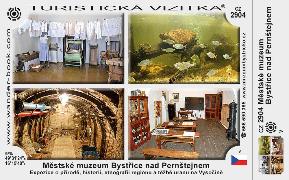 Měst. muzeum Bystřice n. Pernštejnem