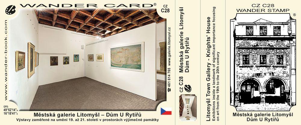 Městská galerie Litomyšl – Dům U Rytířů