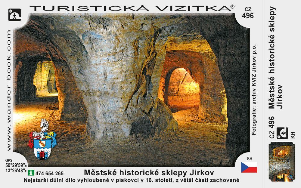 Městské historické sklepy Jirkov