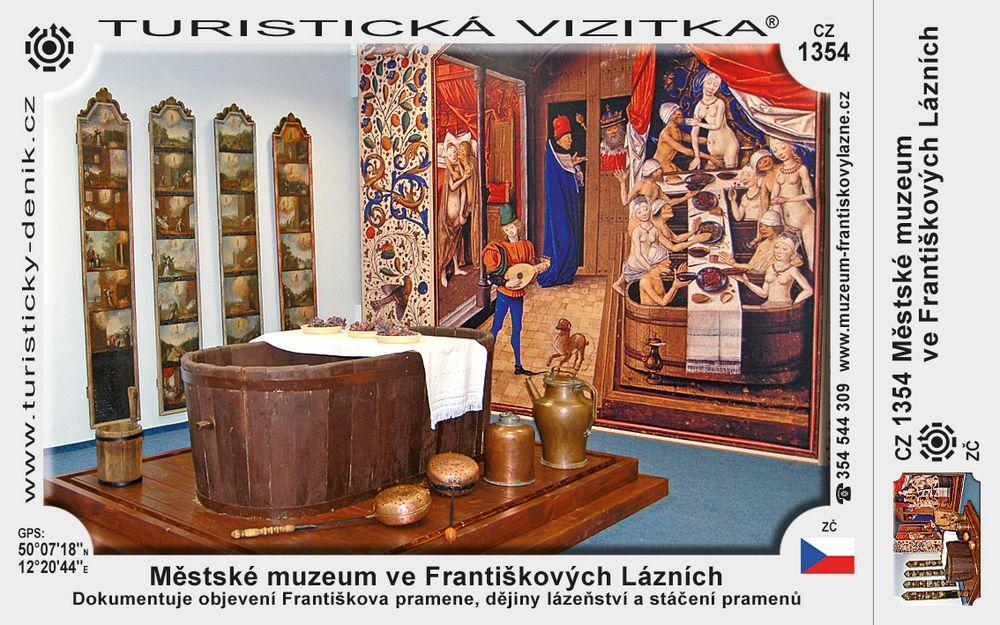 Městské muzeum ve Františk. Lázních