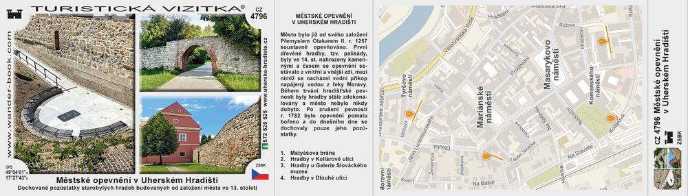 Městské opevnění v Uherském Hradišti