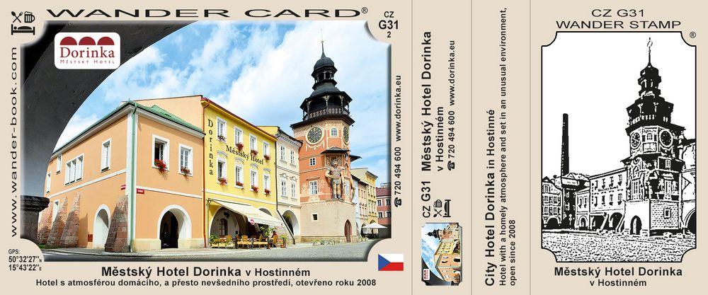 Městský Hotel Dorinka v Hostinném