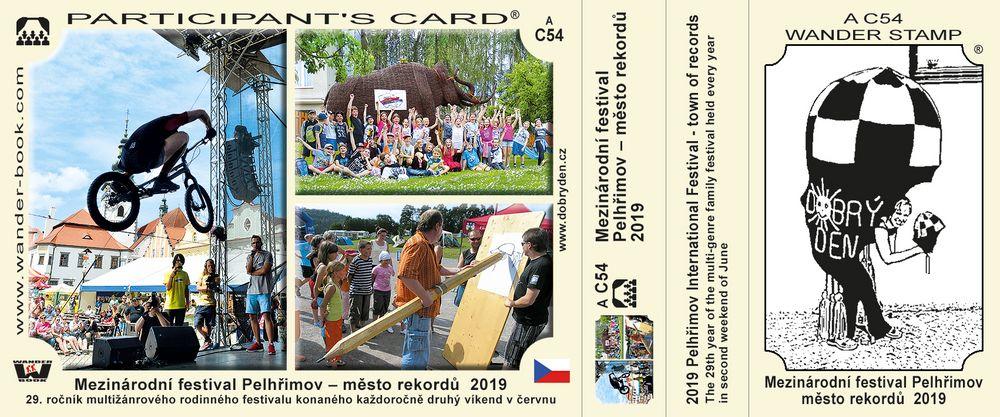 Mezinárodní festival Pelhřimov – město rekordů  2019