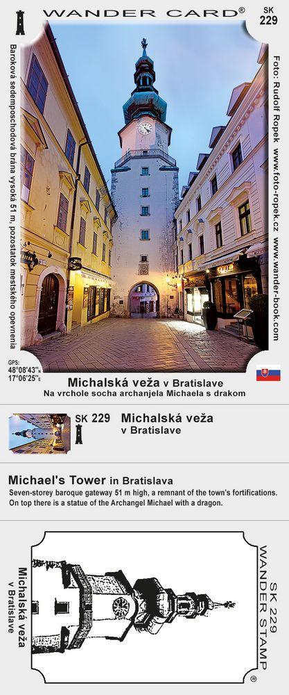 Michalská veža v Bratislave