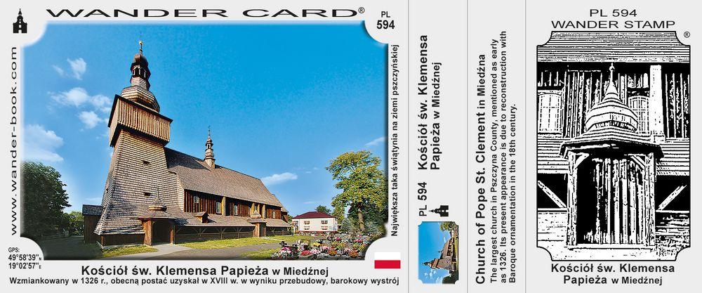 Miedźna kościół św Klemensa
