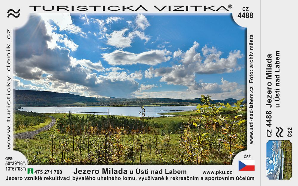 Milada jezero