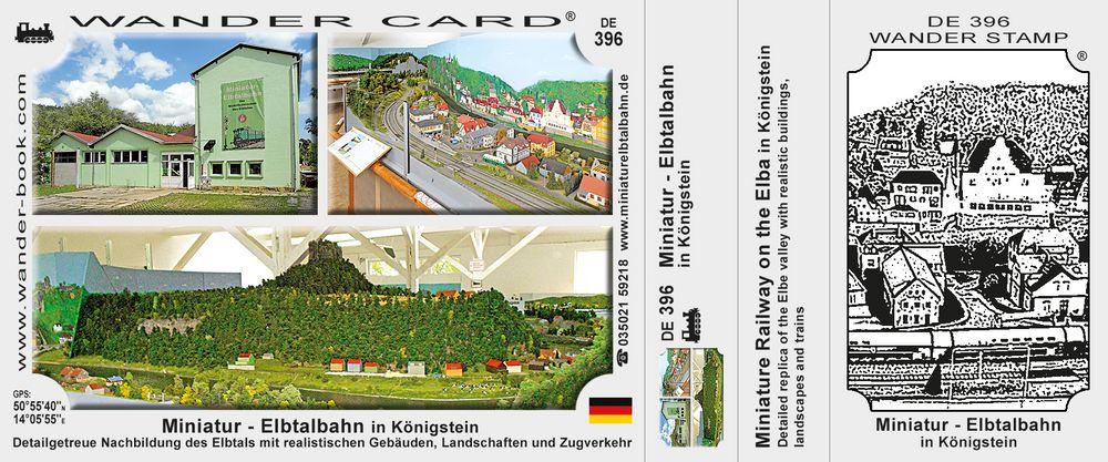 Miniatur- Elbtalbahn in Königstein
