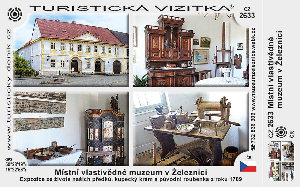 Místní vlastivědné muzeum v Železnici