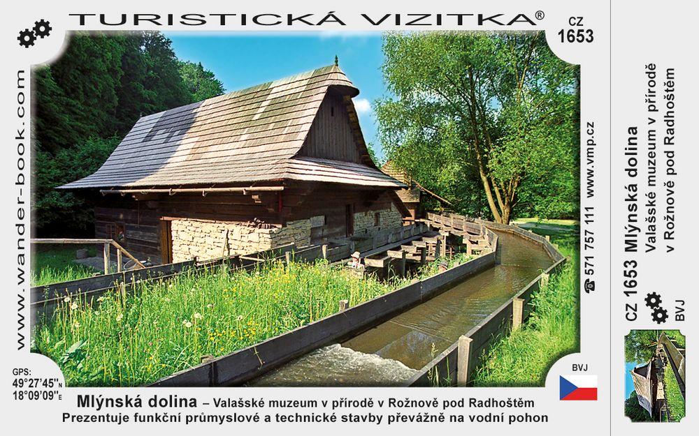 Mlýnská dolina - Valašs. muz. v přírodě