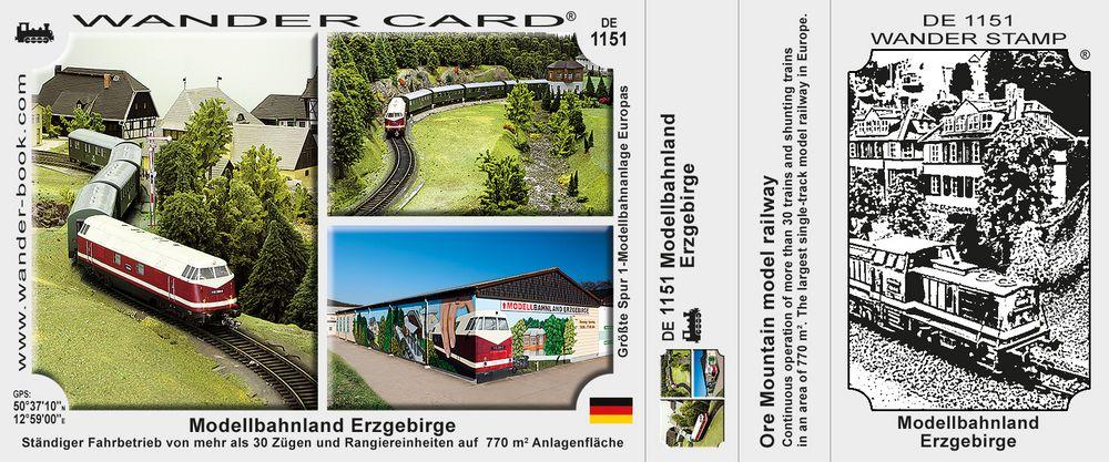 Modellbahnland Erzgebirge