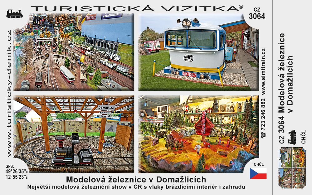 Modelová železnice v Domažlicích