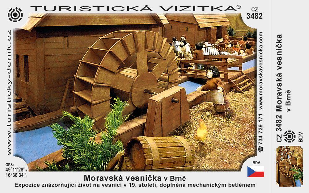 Moravská vesnička v Brně