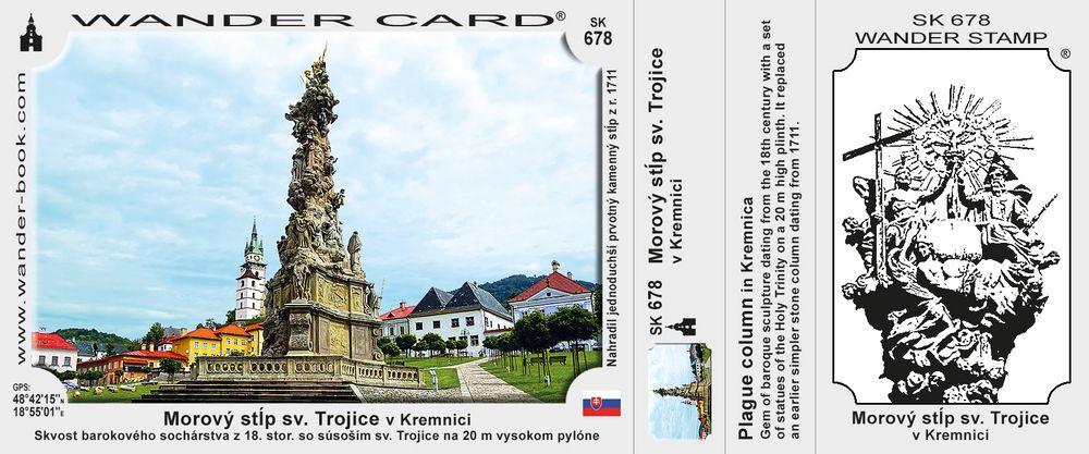 Morový stĺp v Kremnici