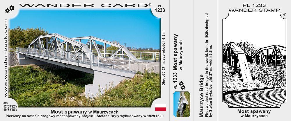 Most spawany w Maurzycach