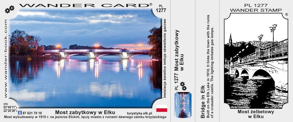 Most zabytkowy w Ełku