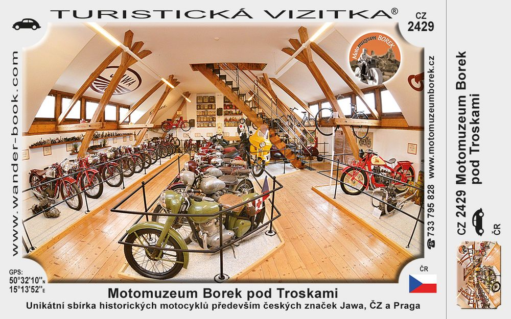 Motomuzeum Borek pod Troskami