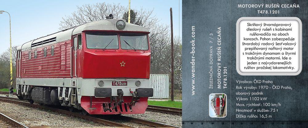 Motorový rušeň Cecaňa T478.1201