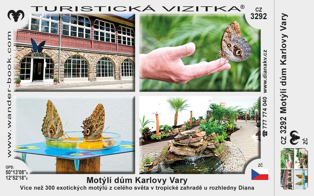 Motýlí dům Karlovy Vary