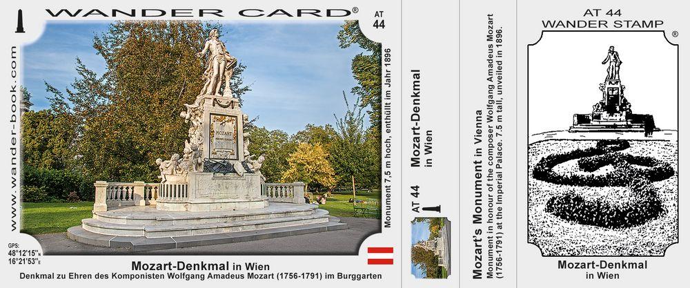 Mozart-Denkmal in Wien