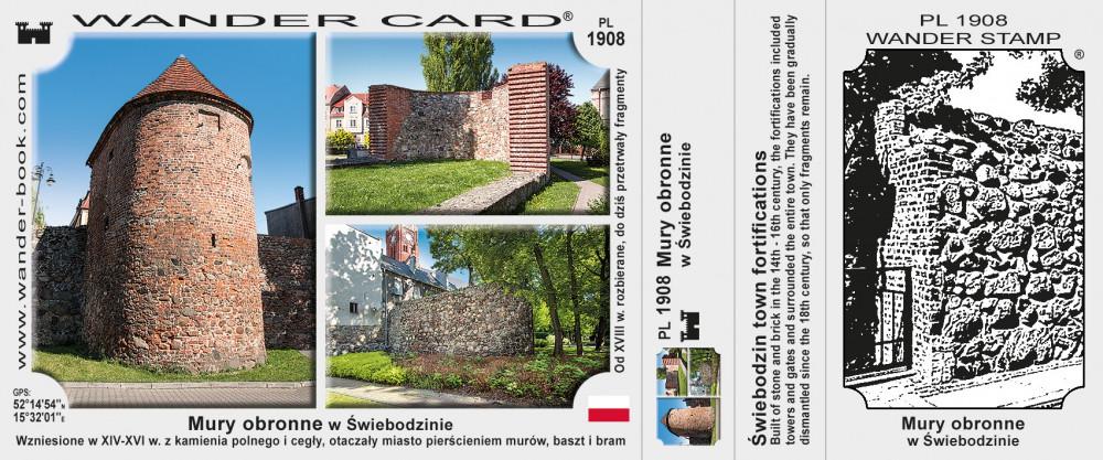 Mury obronne w Świebodzinie