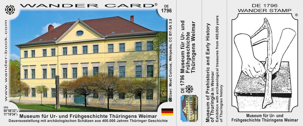 Museum für Ur- und Frühgeschichte Thüringens Weimar