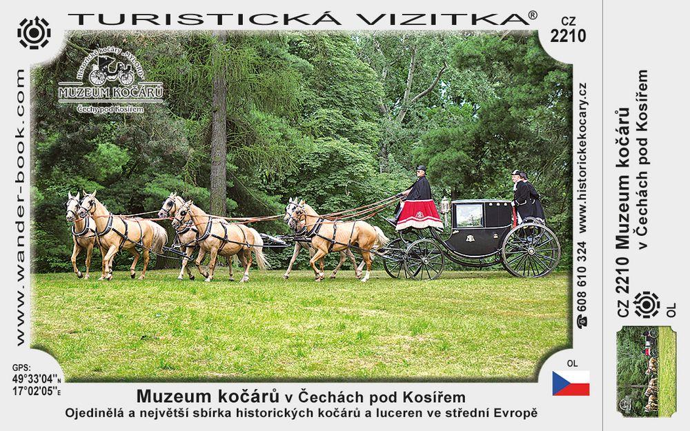 Muz. kočárů v Čechách pod Kosířem