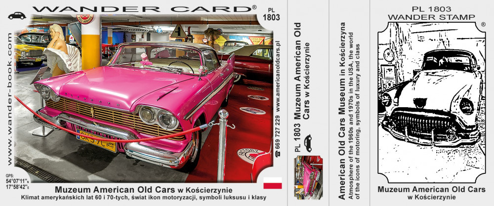 Muzeum American Old Cars w Kościerzynie